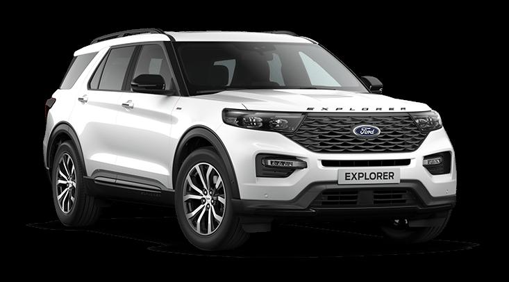 Ford Explorer Virtuele Showroom