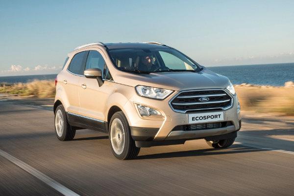 Ford EcoSport rijden