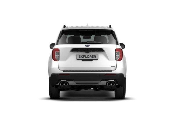 Ford Explorer achterkant