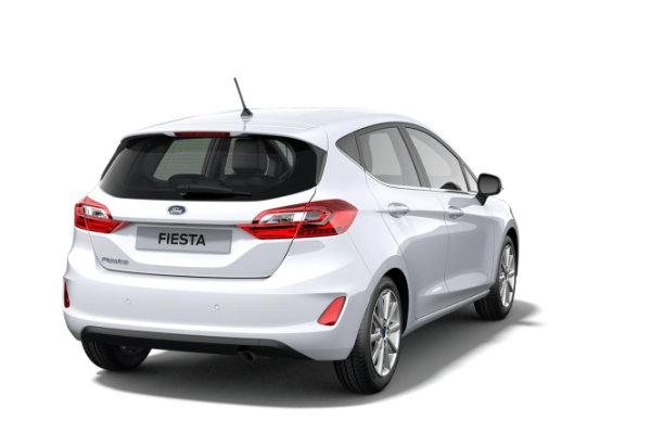 Ford Fiesta rijden