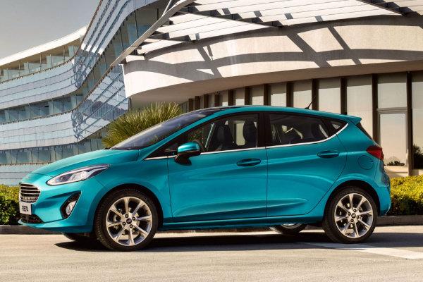 Ford Fiesta zijkant