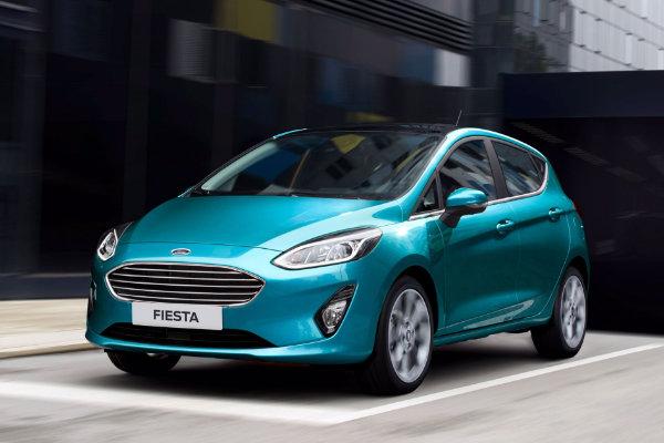 Ford Fiesta met panoramadak