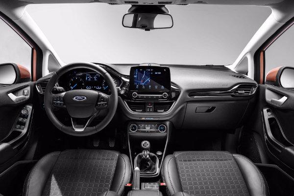 Ford Fiesta binnenkant