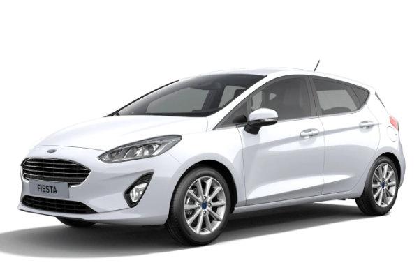 Nieuwste Ford Fiesta