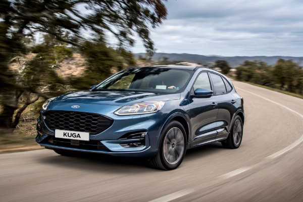 Nieuwe Ford Kuga proefrijden