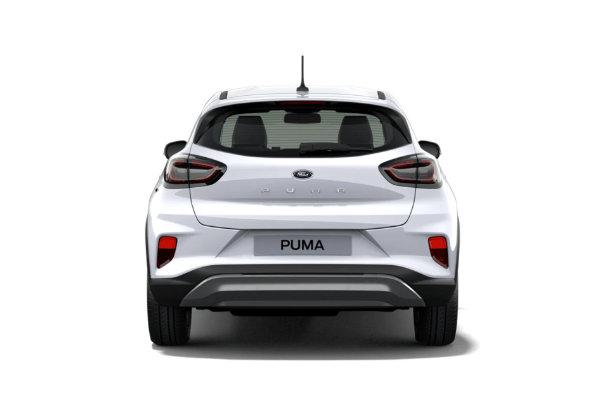 Ford Puma achterkant