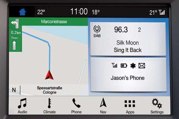 Ford Mondeo navigatie