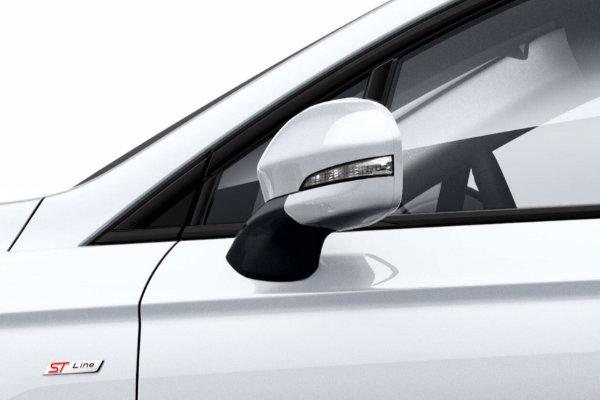 Ford Mondeo achteruitkijk spiegel