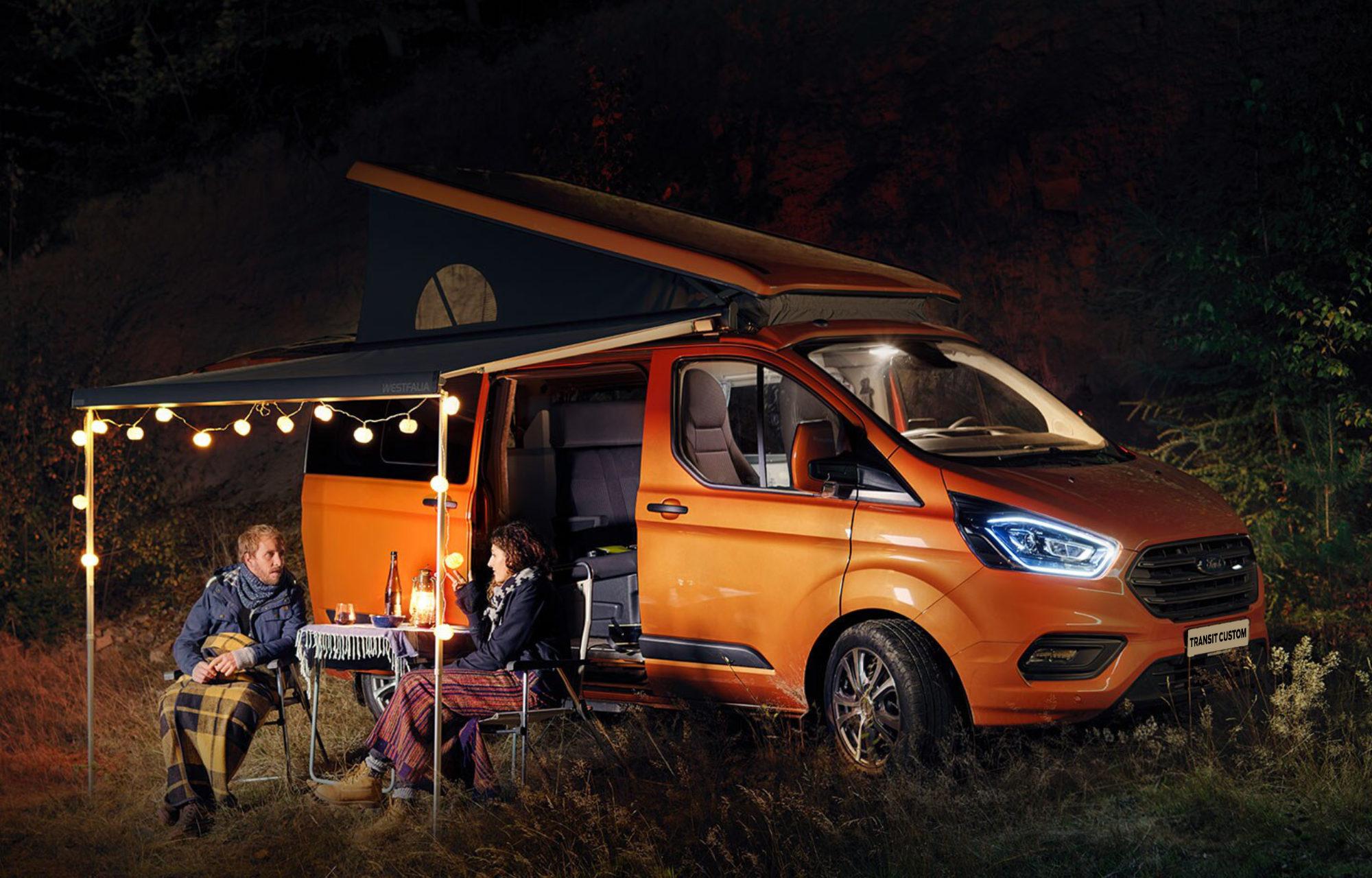Nieuwe Ford Transit Custom Nugget