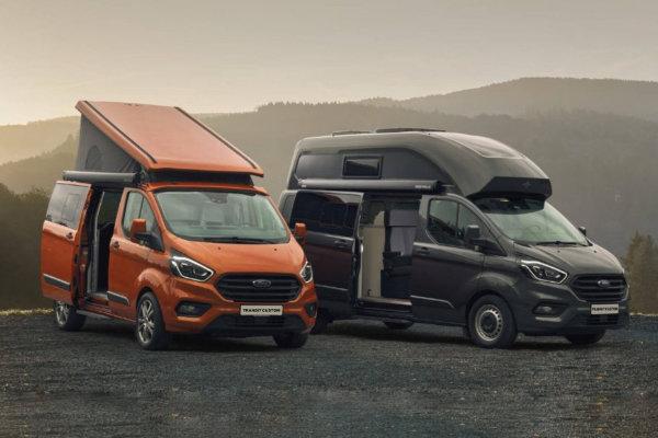 Nieuwe Ford Transit Nugget Plus