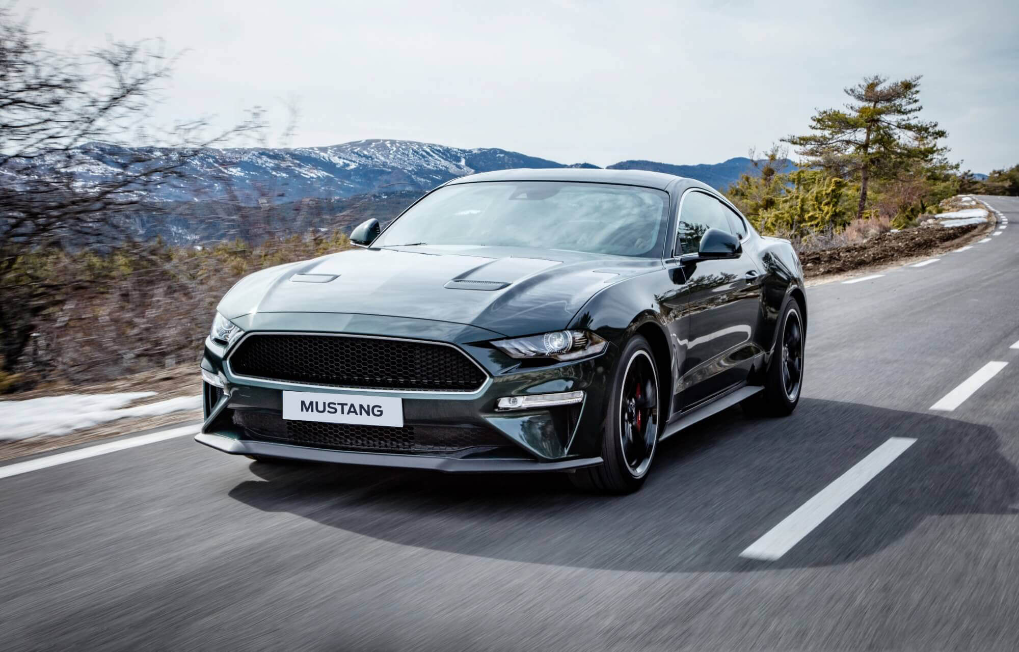 Nouvelle Ford Mustang Bullit