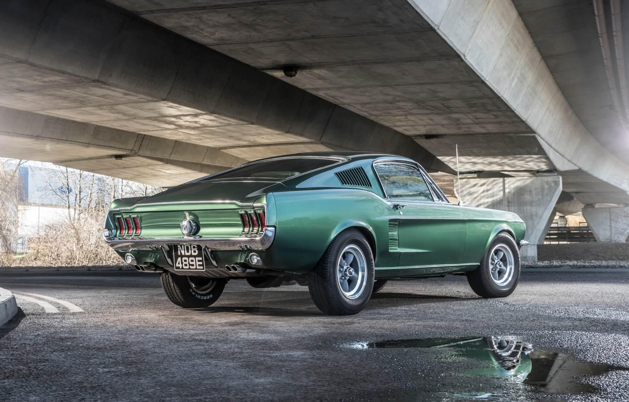 Première génération Mustang Bullit