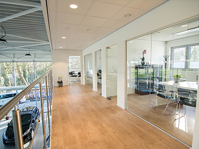 Showroom Garage Geudens in Hoogstraten