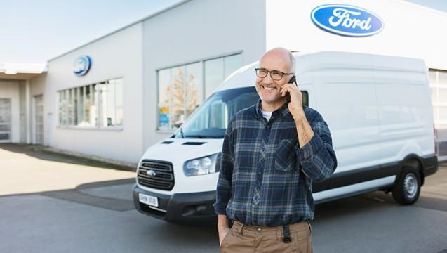 Ford bedrijfsvoertuigen