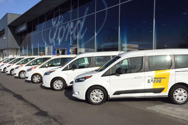 Ford bedrijfswagens met ombouwmogelijkheden
