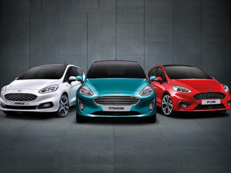 Ford Fiesta range aanbiedingen