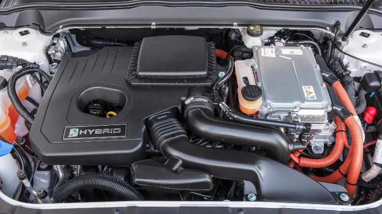 De batterij in een Hybrid-voertuig