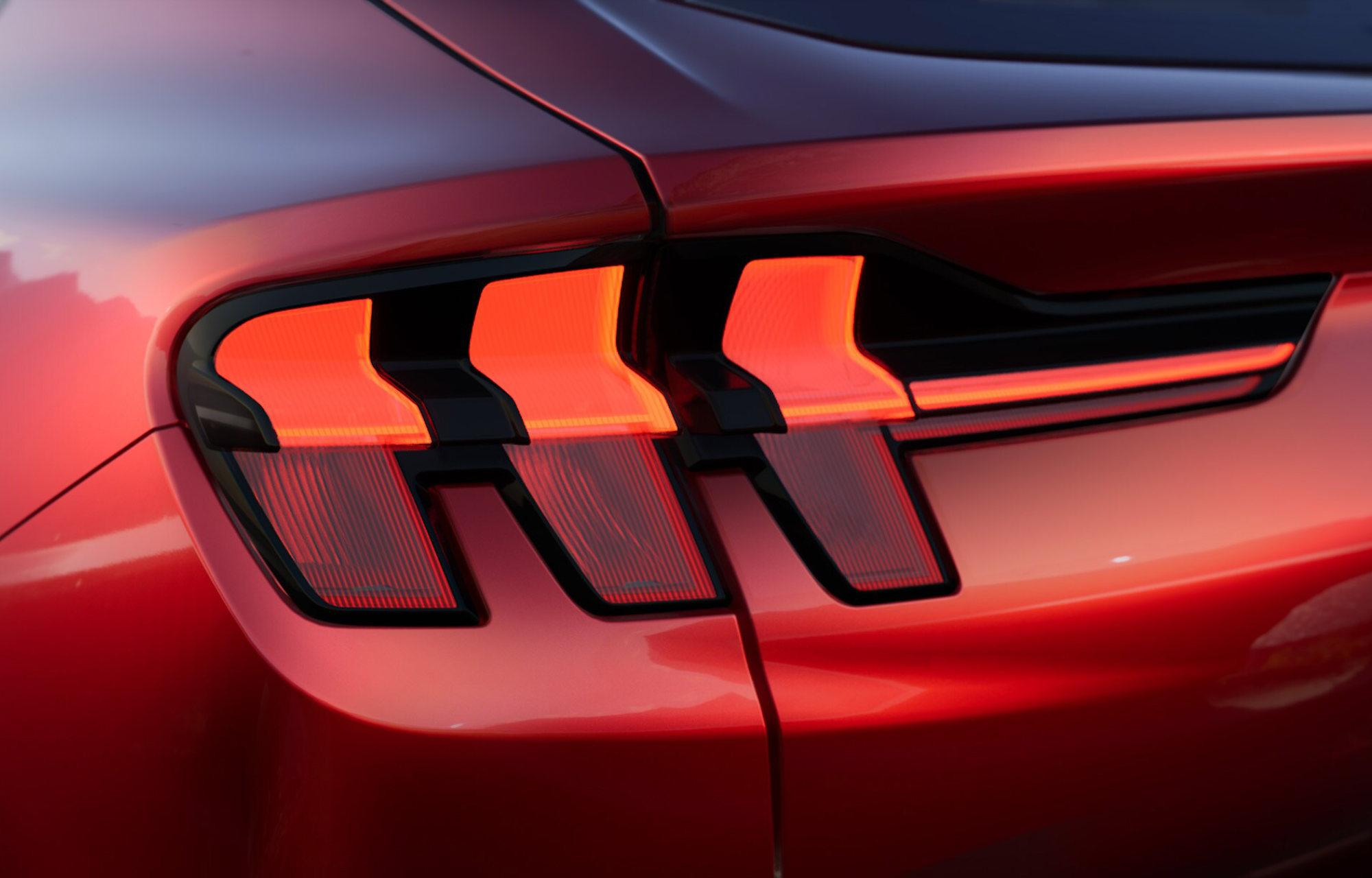 Nouvelle Mustang Mach-E
