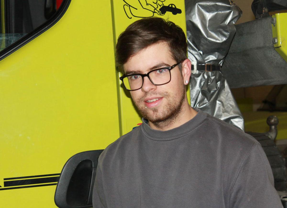 Pascal Amstutz, Mitarbeiter Unterhalt und Dienste
