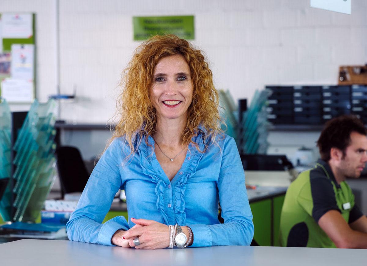 Jeannette De Filippo, Verkaufsassistentin