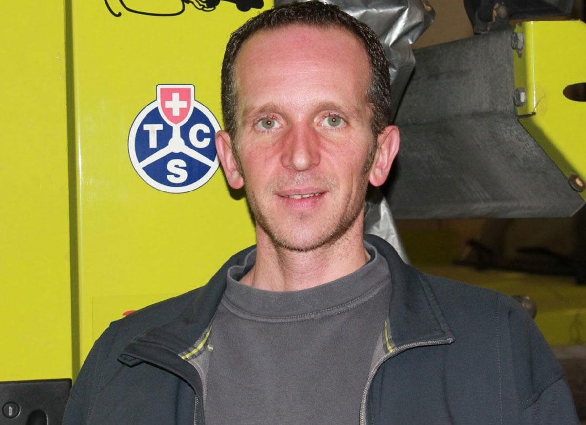 Mario Del Priore, Verantwortlicher Unterhalt & Dienste