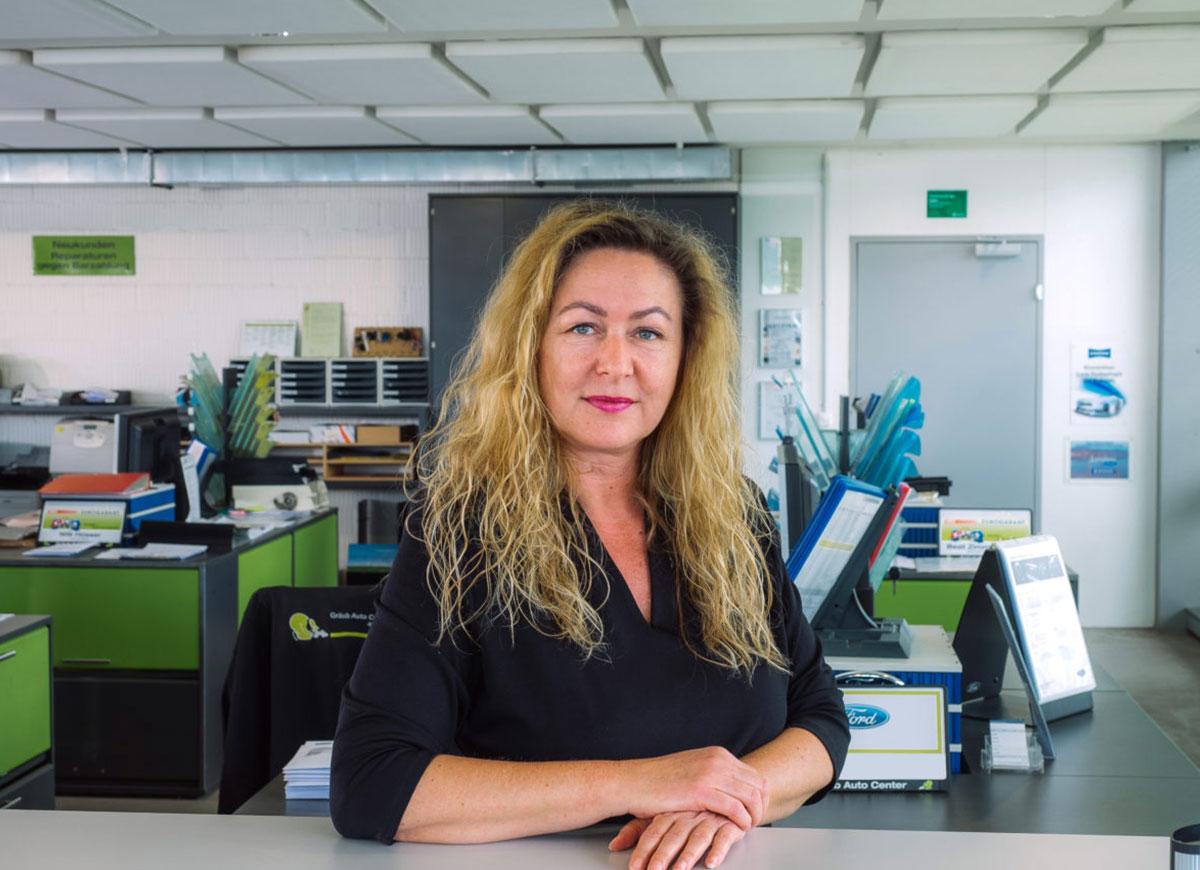 Beatrice Fischer, Leiterin HR