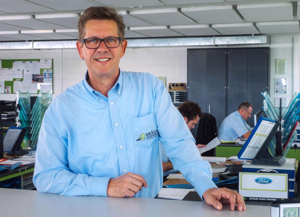 Willi Hüsser, Leiter Carrosserie