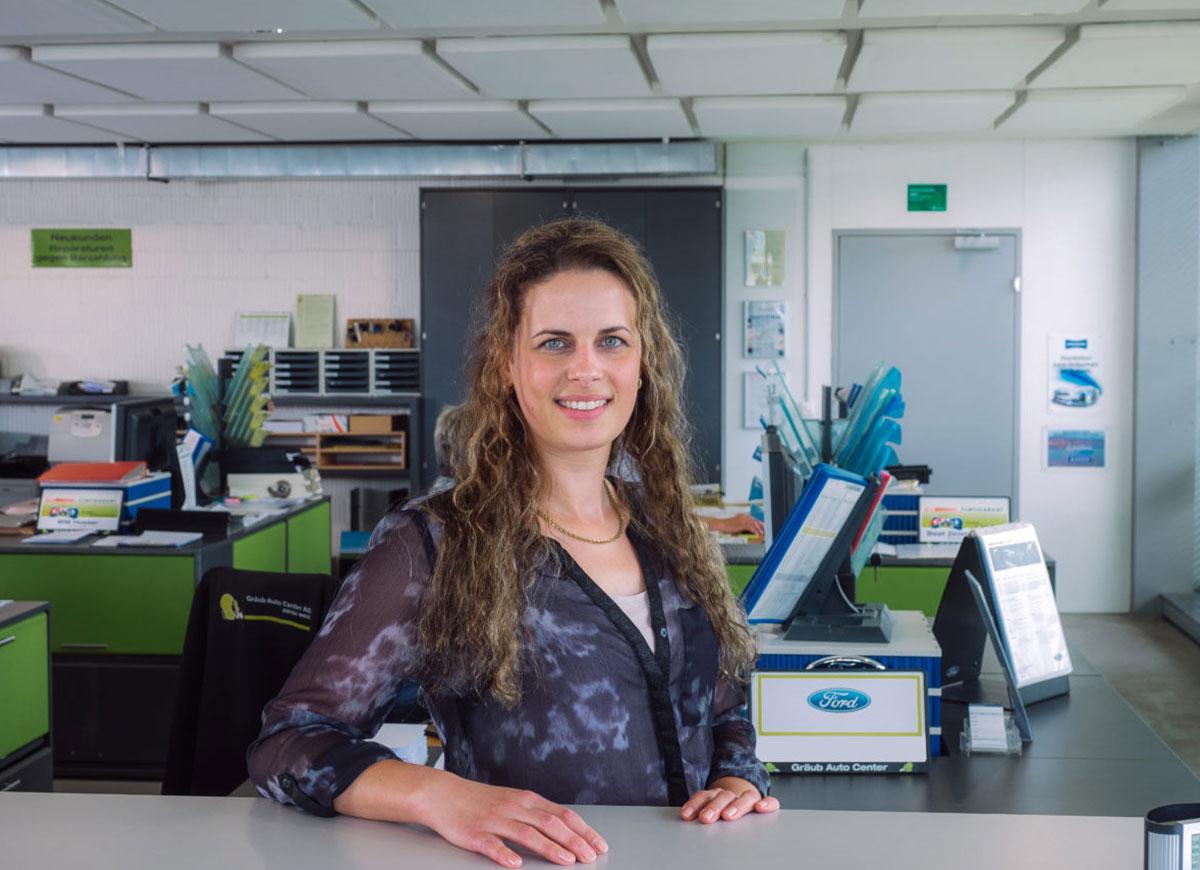 Iris Oppliger, Assistentin Buchhaltung