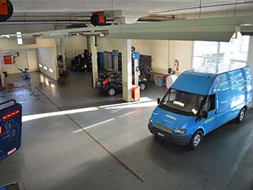 Nutzfahrzeug Reparaturen Garage Voney AG