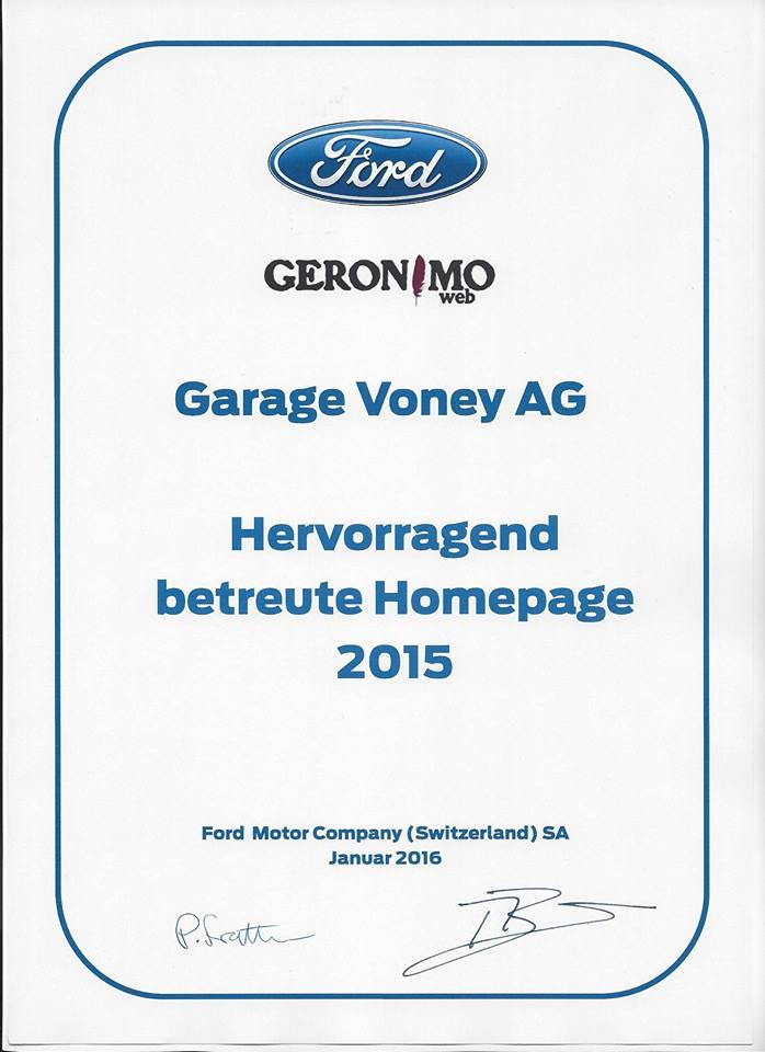 Garage Voney AG
