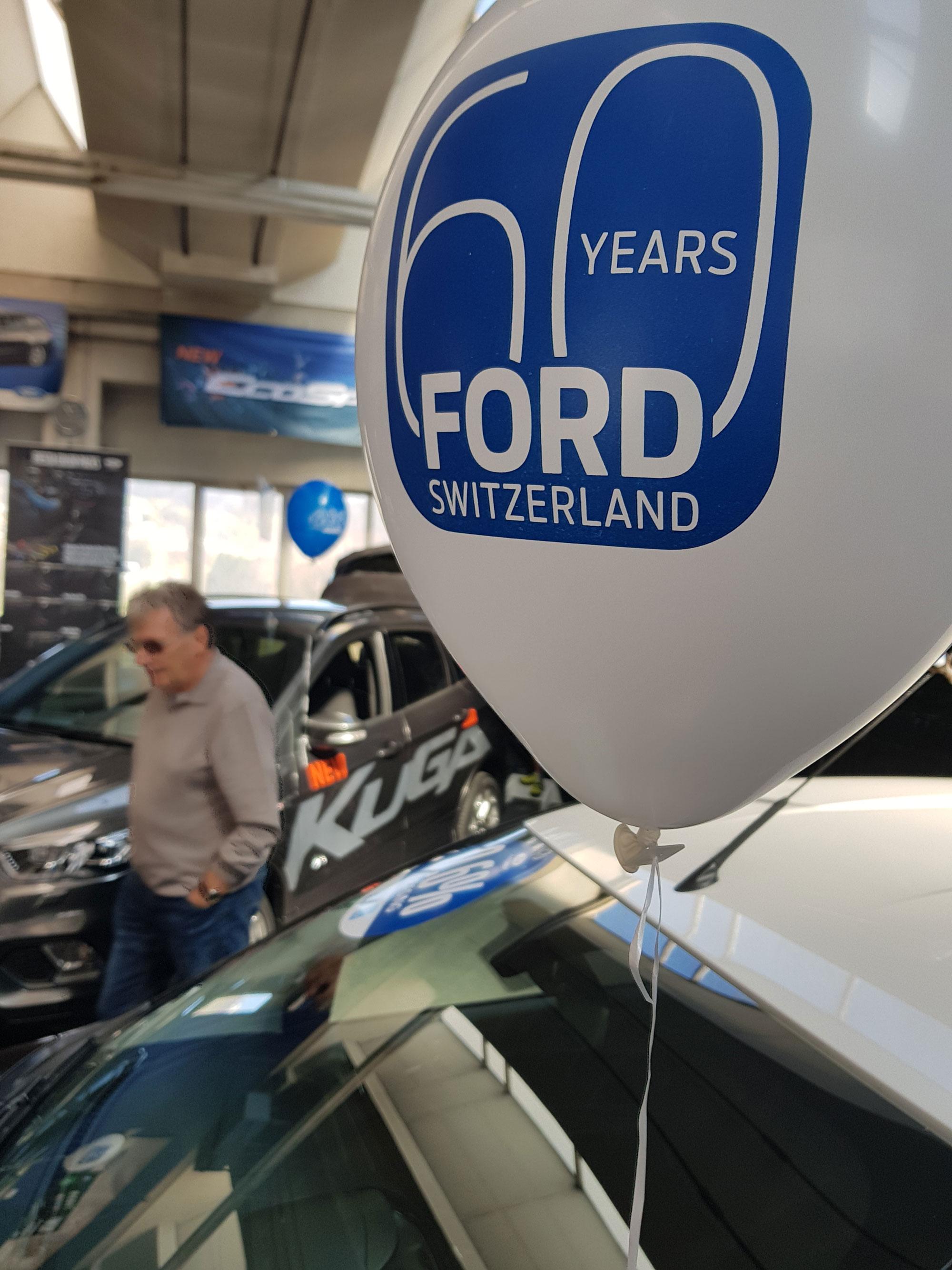 60 Jahre FORDteilhaft Schaanwald