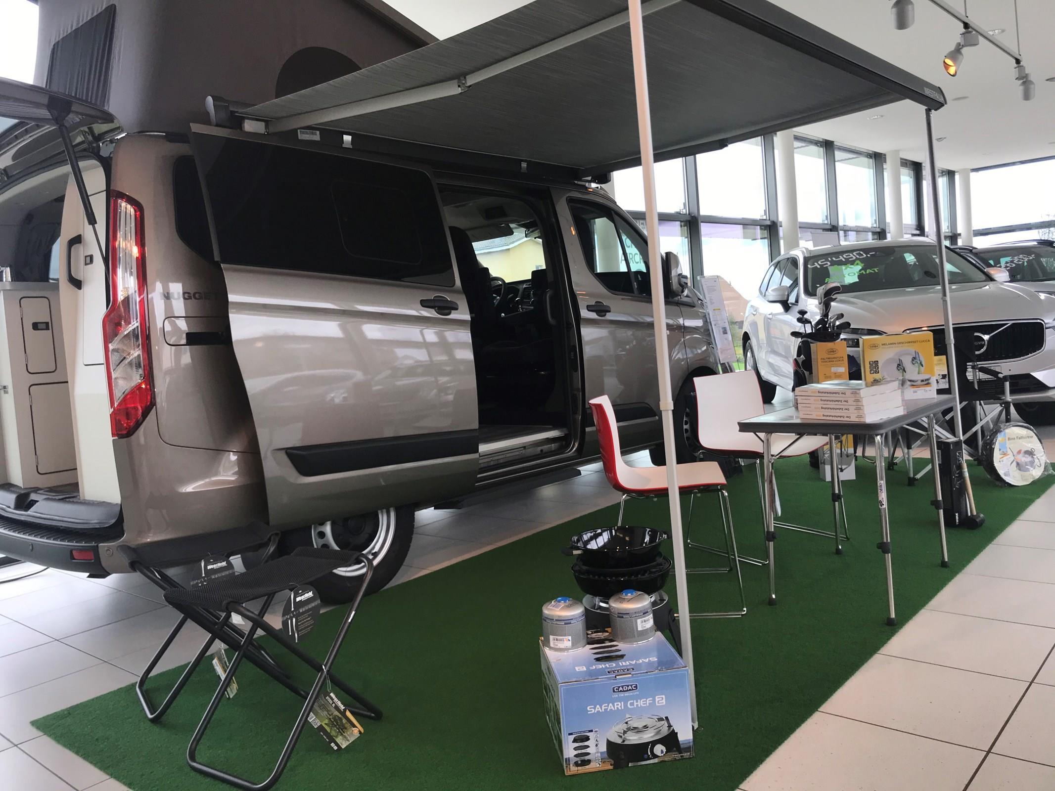 Mietwagen Ford Transit Westfalia Nugget Steffen Garage Remetschwil