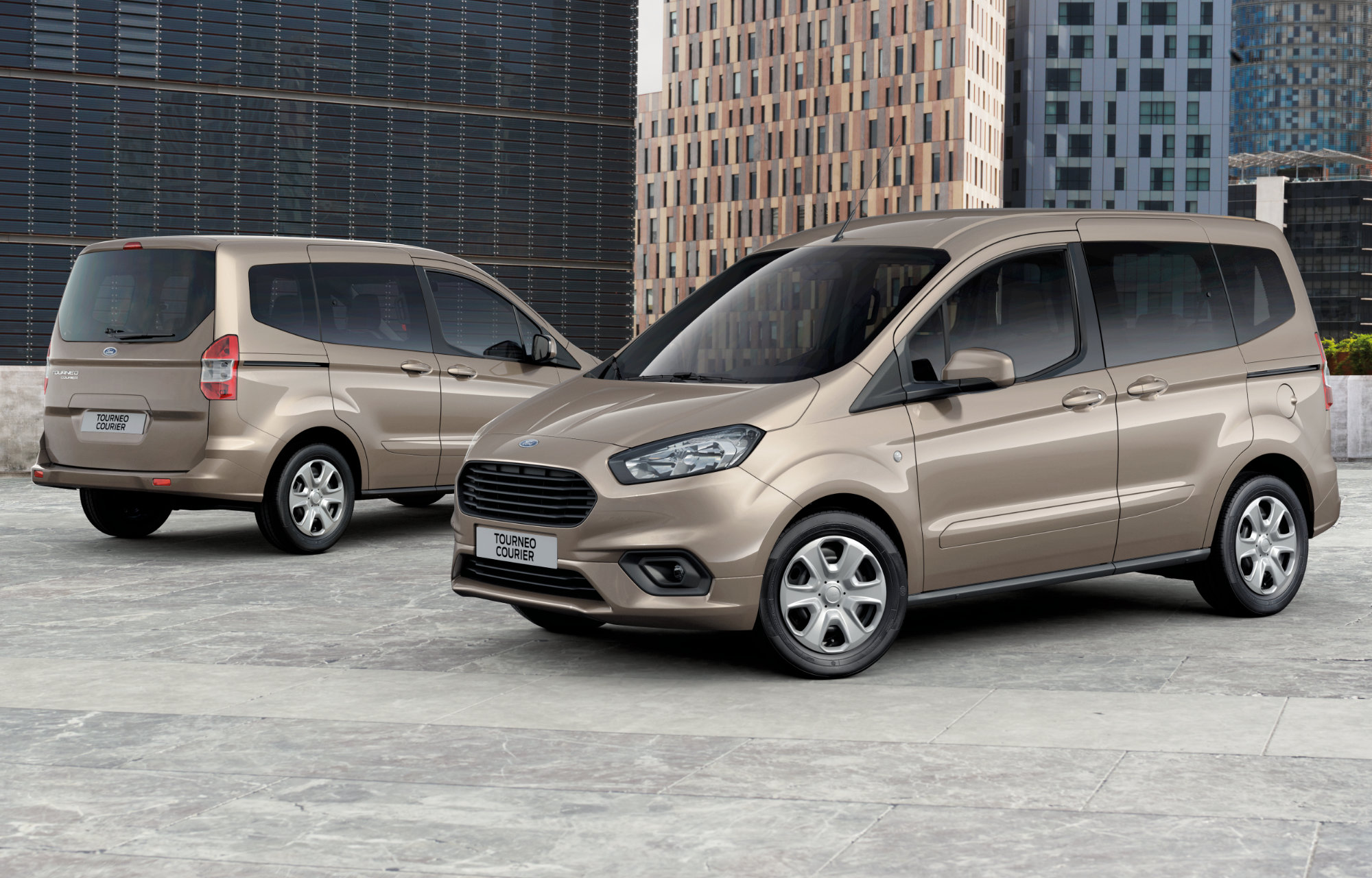 Ford Tourneo Courier Trend, 1.0l, 100 PS/170 kW