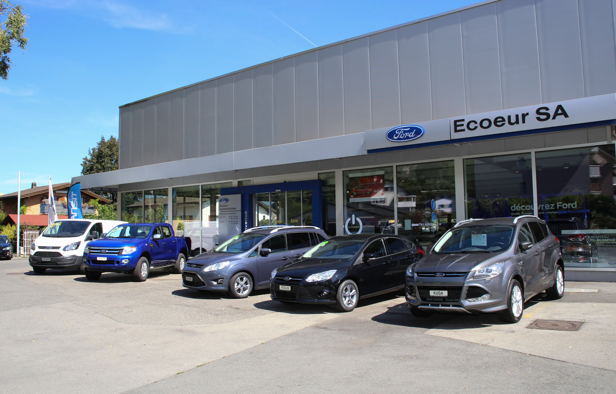 Ford Ecoeur Automobile-Garage Collombey Valais