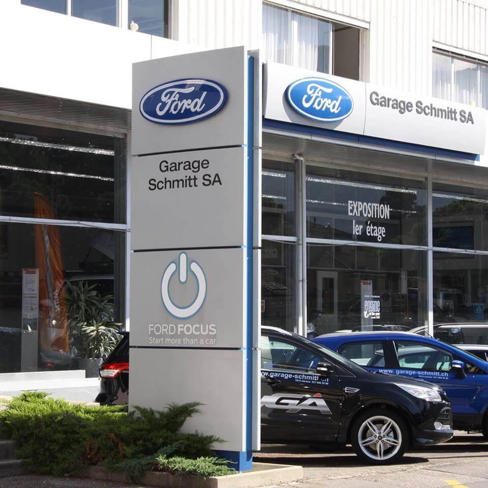 Ford Garage Schmitt SA : concessionnaire de l'année 2017