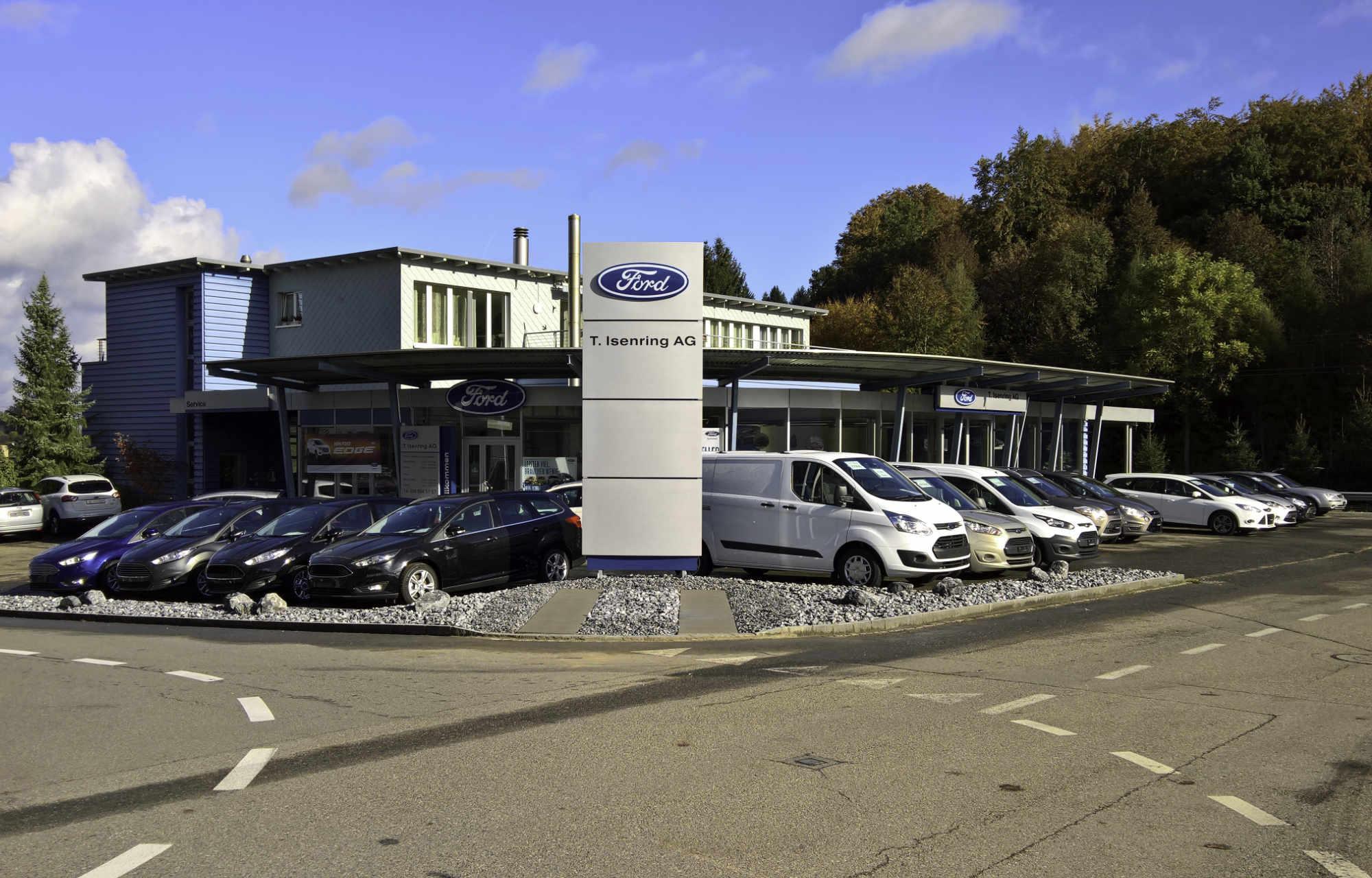 Unser Betrieb Garage T. Isenring AG