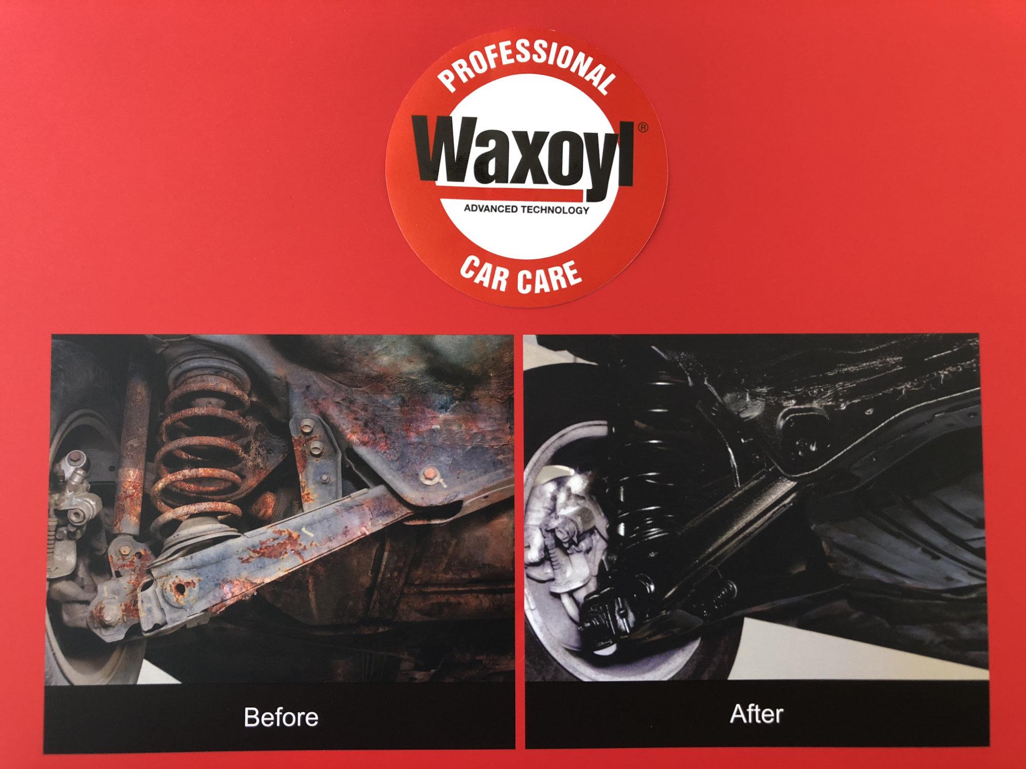 Waxoyl vorher/nachher