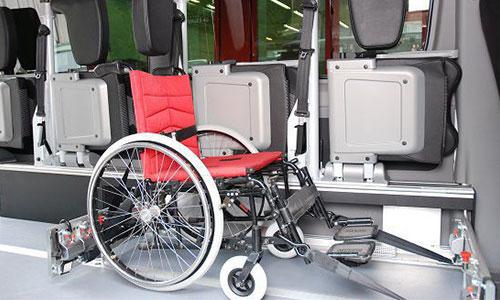 Ford Behindertentransport