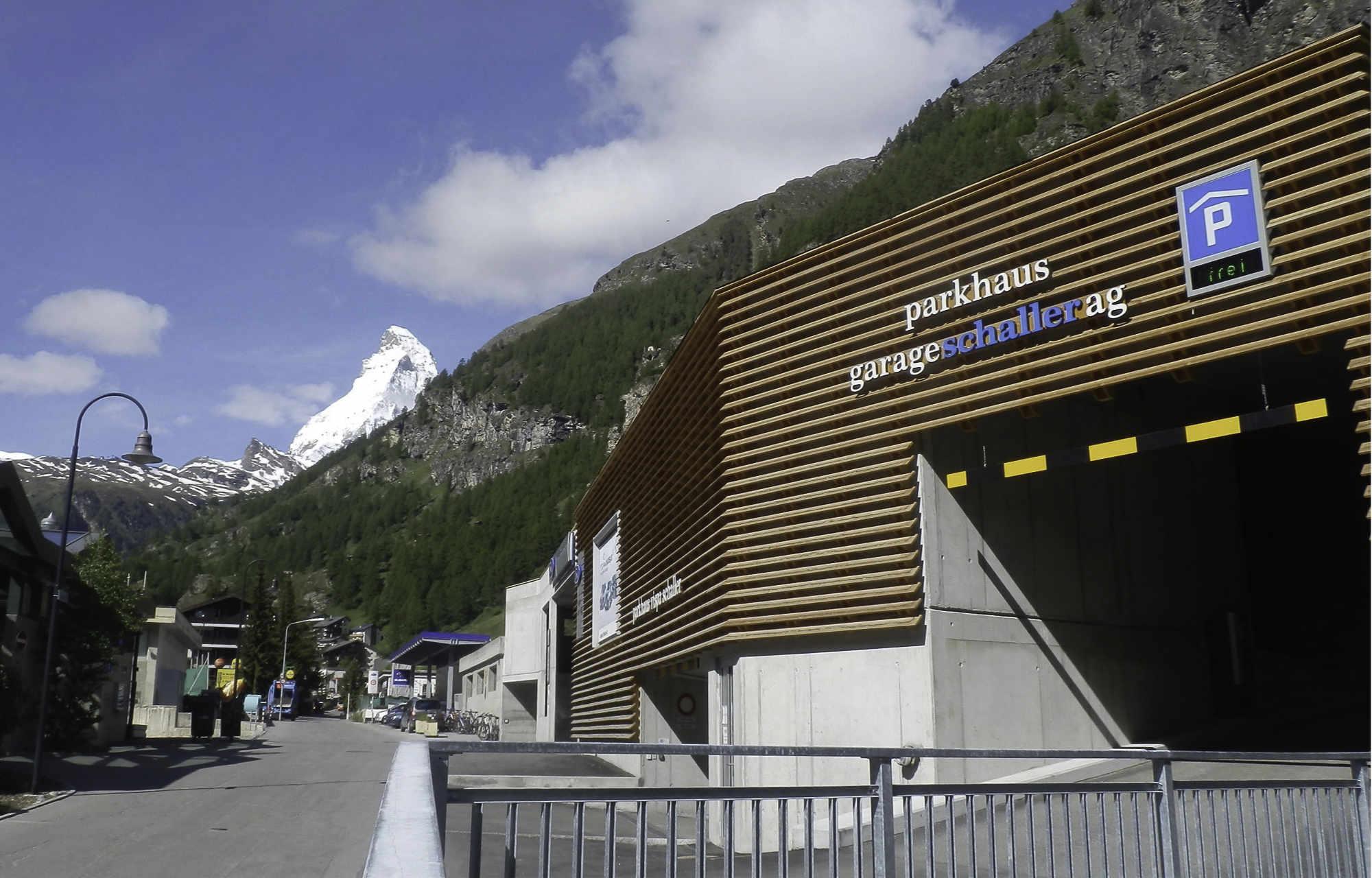 Unser Betrieb Garage Schaller AG Zermatt