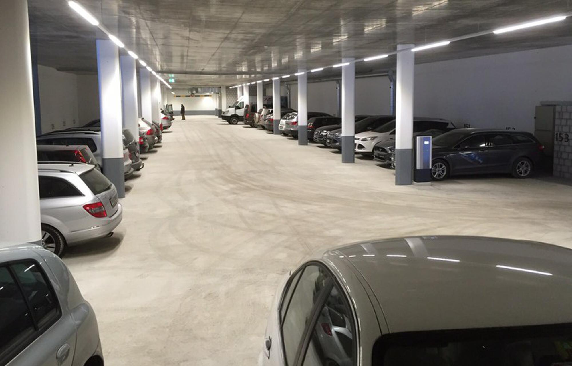 Parkhaus Garage Schaller AG Zermatt