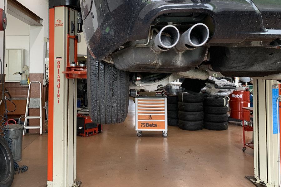 Reparatur und Wartung von Nutzfahrzeugen