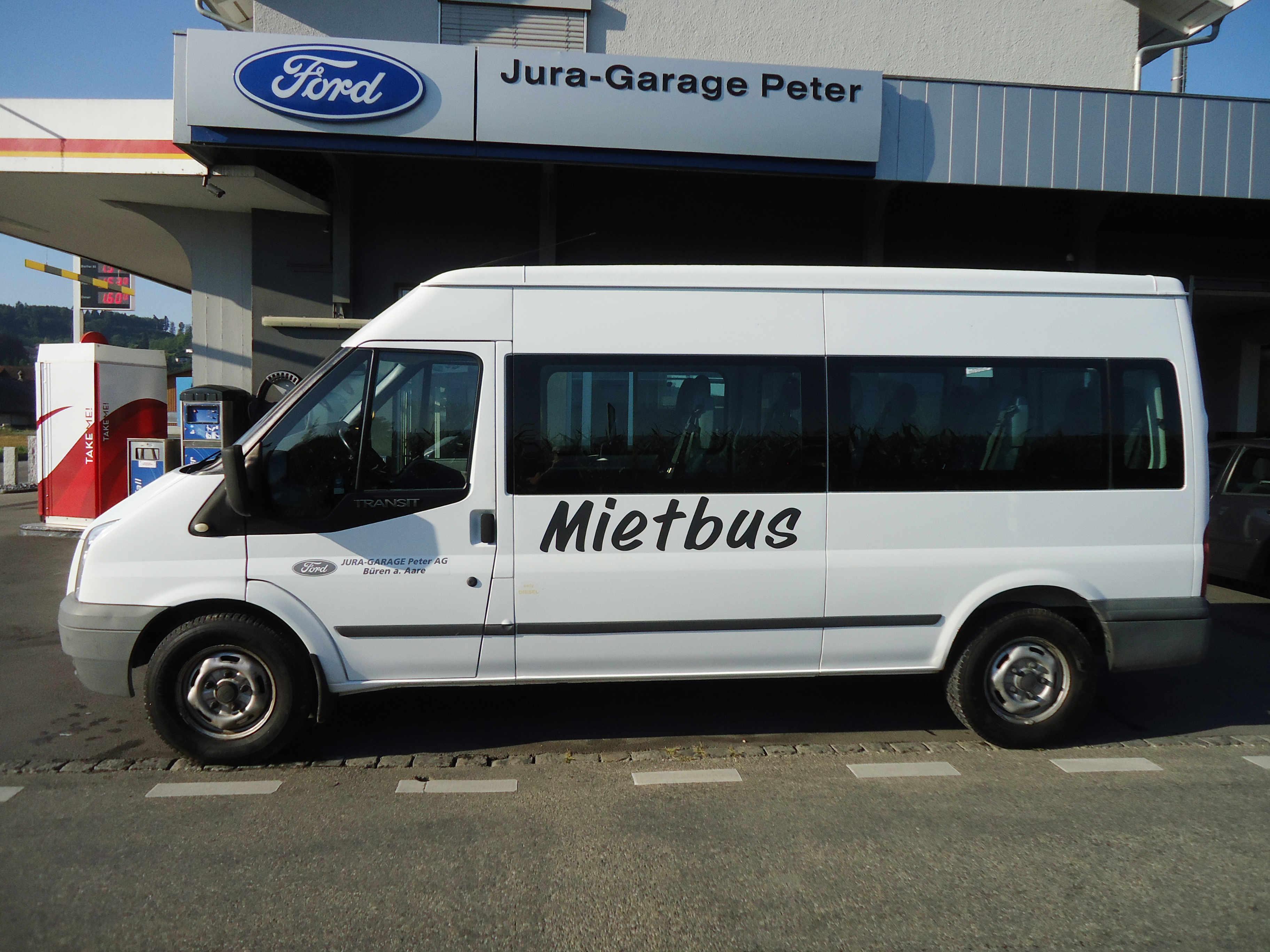 14-Plätzer Jura-Garage Peter AG Büren an der Aare