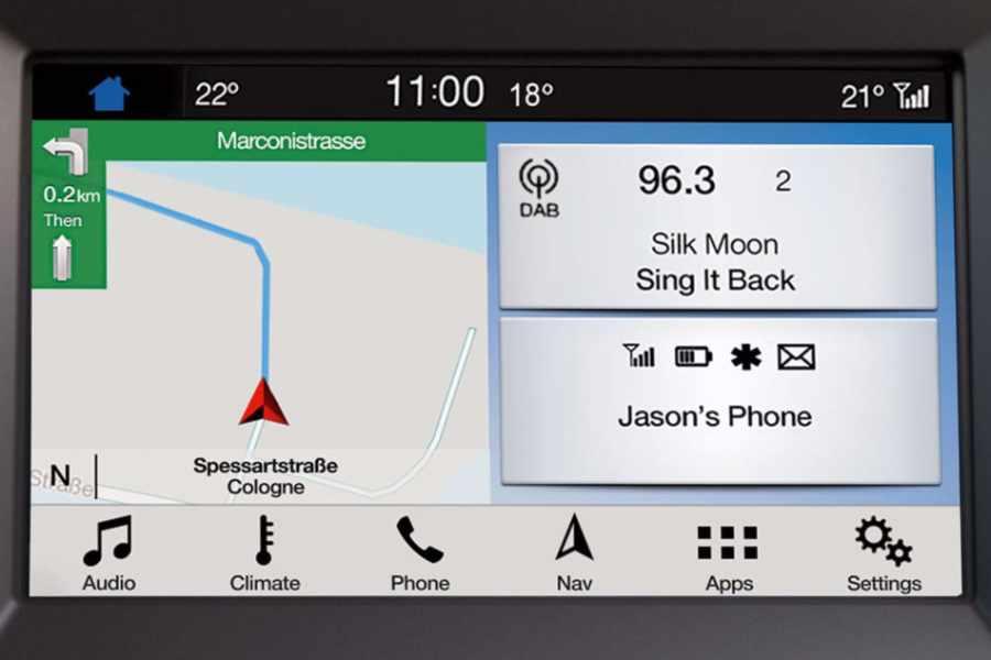 Ford Mondeo Navigationssystem
