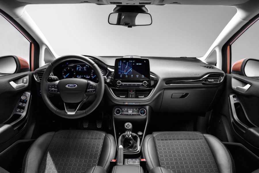 Ford Fiesta Innenraum