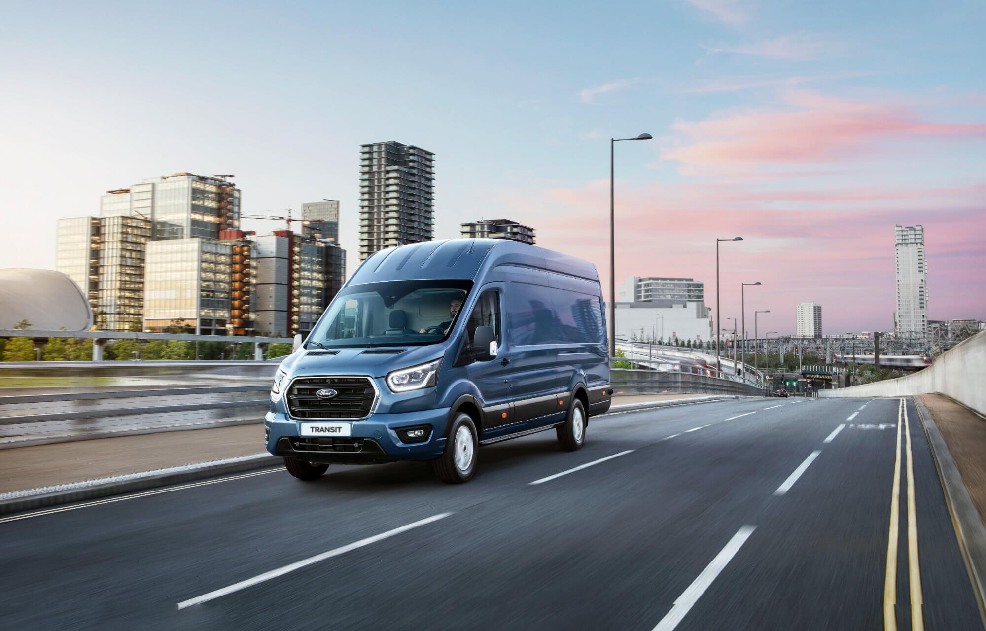 Ford Transit Mietwagen