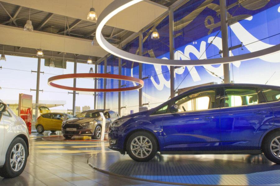 FordStore zones thématiques