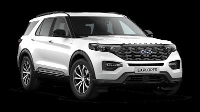 Ford Explorer Virtueller Showroom