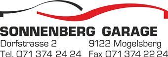 Sonnenberg Garage Mogelsberg Logo