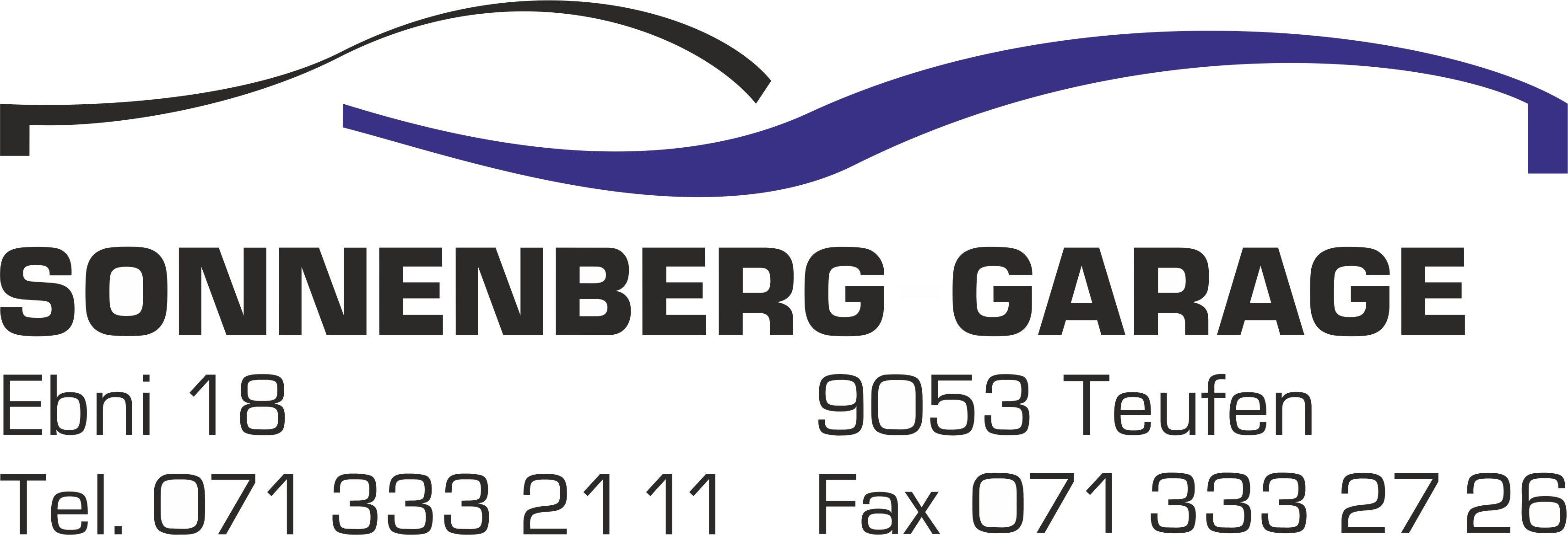 Sonnenberg Garage Teufen Logo