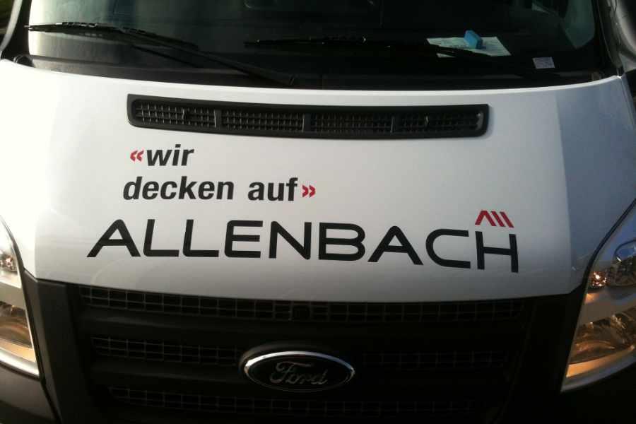 Beschriftung Allenbach
